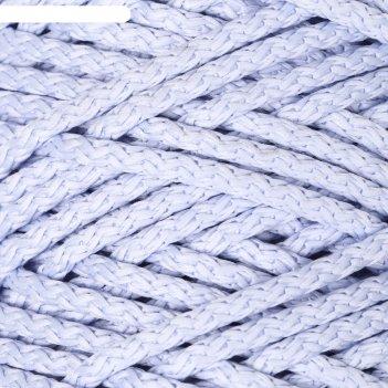 Шнур для вязания с сердечником 100% полиэфир, ширина 5 мм 100м/550гр (17 г