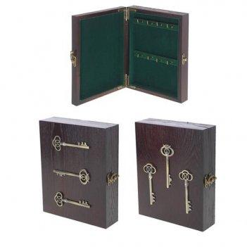 Ключница, l18 w5 h22,5 см, 2 в.
