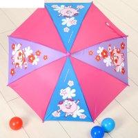 Зонт детский смешарики отличный день 8 спиц d=78 см