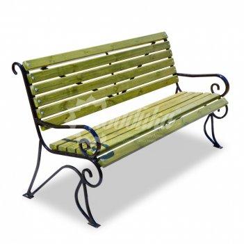 Скамейка кованая «вояж» кресло
