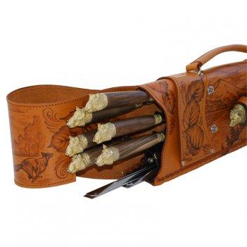 327нм6 шампурница подарочная «ружье»