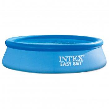Бассейн надувной easy set 305х76 см (в комплекте: насос с фильтром 220v)