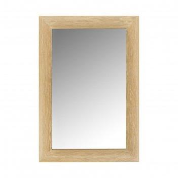 Зеркало дуб 410х610