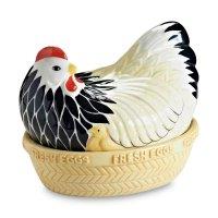 Подставка для яиц, размер: 21 х 16,5 х 18 см, материал: керамика, декор, с