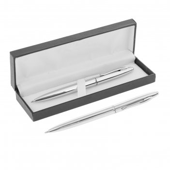 Ручка шариковая, подарочная, автоматическая, в кожзам футляре, «джокер», с