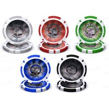 Фишки для покера golden eagle голографические