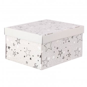 Складная коробка «звёздные радости», 31,2 х 25,6 х 16,1 см