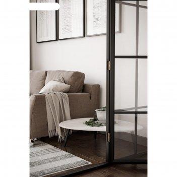 Стол журнальный «стэм», 940 x 690 x 270 мм, цвет белый бетон