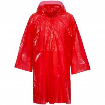 Дождевик-плащ brightway, красный