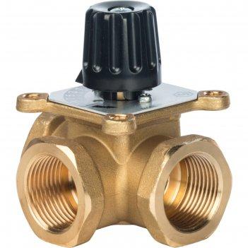 Клапан смесительный stout svm-0003-012502, трех ходовой, 1, kvs 12