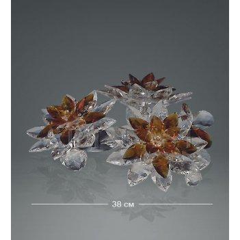 Ra- 9 фигура хрустальные цветы