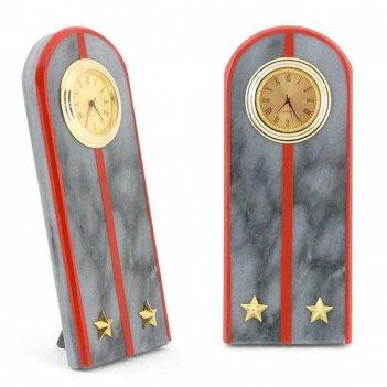 Часы погон лейтенант мвд камень мрамор