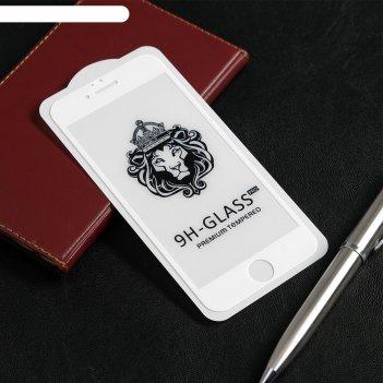 Защитное стекло innovation 2d, для apple iphone iphone 6/6s, полный клей,