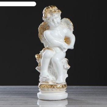 Статуэтка ангел большой  белый
