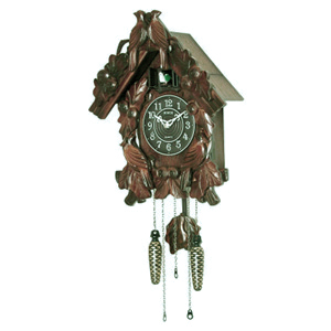 Настенные часы с кукушкой sinix 685 (кварцевые)