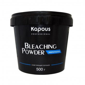 Осветляющая пудра для волос в микрогранулах kapous professional, 500 г