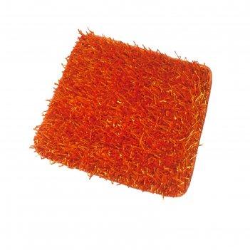 Коврик для ванной комнаты bob, оранжевый, 50x50 см