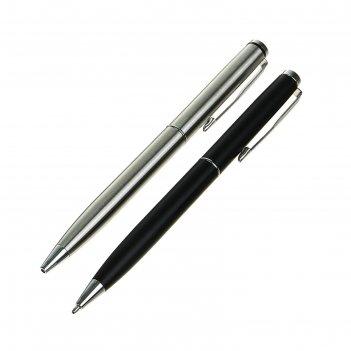 Ручка подарочная, шариковая, поворотный корпус, «вектор», микс