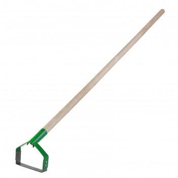 Полольник петлеобразный, лезвие 15 см, деревянный черенок, «росток»