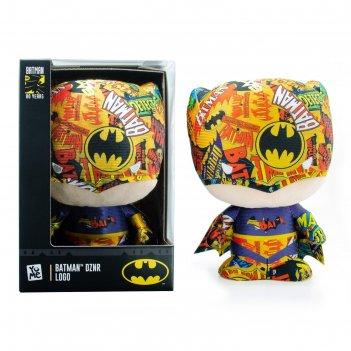 Мягкая игрушка бэтмен logo, 17 см