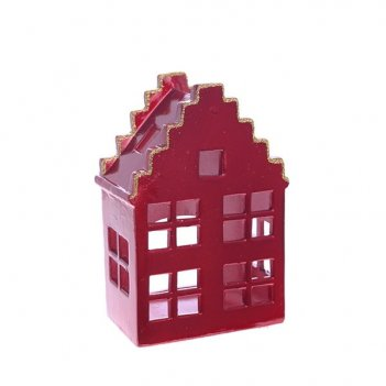 Подсвечник дом, l8 w5,5 h14,5 см