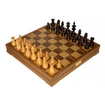 Шахматы классические стандартные деревянные утяжеленные
