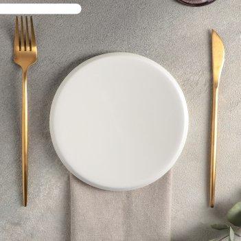 Тарелка плоская 16 см slide