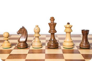 Шахматные фигуры классические индия король 8,3см