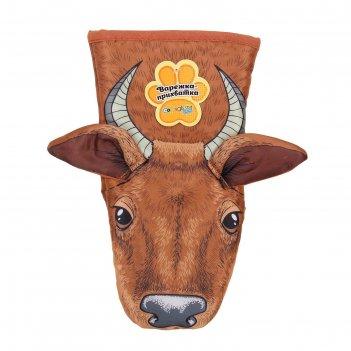 Варежка-прихватка collorista cow, 100% полиэстр