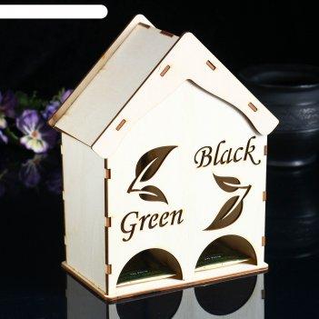 Чайный домик green & black