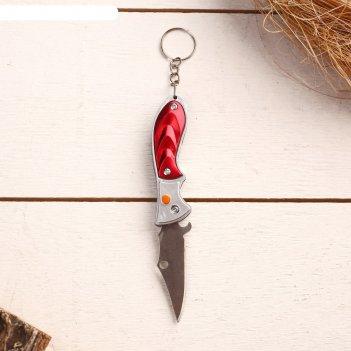 Нож складной, брелок акула 11 см, микс, рукоять пластик