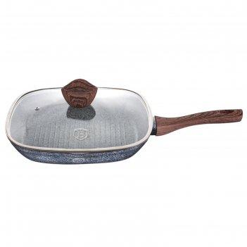 Сковорода-гриль с крышкой 28 см
