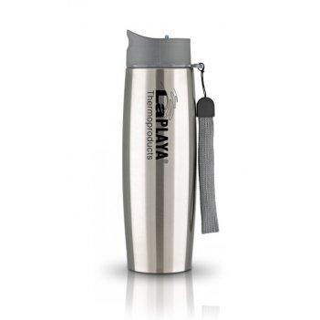 Кружка-термос из нерж. стали laplaya thermo mug ss strap 0.5 l silver
