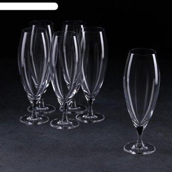 Набор бокалов для пива carduelis, 380 мл, 6 шт