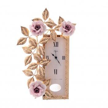 Часы rectangular small rosaperla