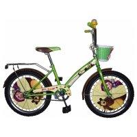 Велосипед 20 navigator маша и медведь, 2018, цвет зелёный