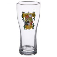 Бокал для пива 500 мл любимое пиво, рисунок микс