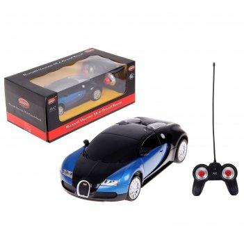 Машина на радиоуправлении bugatti veyron 1:24 27028