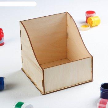 Заготовка для декупажа коробочка под специи 15 х 15 см