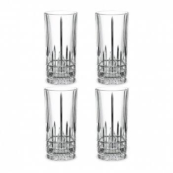 Набор из 4-х стаканов, объем: 350 мл, материал: хрустальное стекло, серия