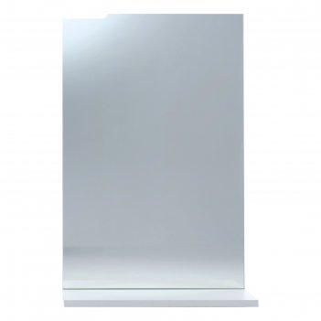 Зеркало-шкаф вега 4501 белое, 45 х 136 х 70 см