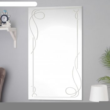 Зеркало, настенное, 60x100 см
