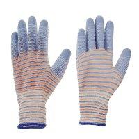 Перчатки садовые нейлон латекс (10 размер) полоса микс