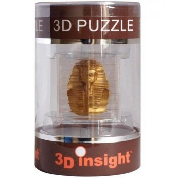 44255 головоломка 3d insight череп золотой