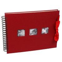 Фотоальбом магнитный 20 листов image art w023 свадебный 25х33 см