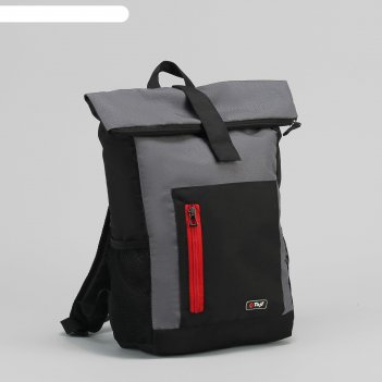 Рюкзак молод саргас 4, 26*12*41, отдел на молнии, н/карман, 2б/сетки, черн