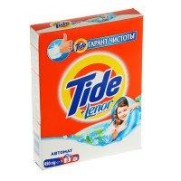 Порошок стиральный tide автомат lenor touch of scent, 450 г