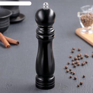 Мельница для соли/перца черная 21,5 см