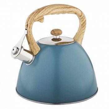 Чайник agness со свистком 3,0 л, индукцион. капсульное дно (кор=12шт.)