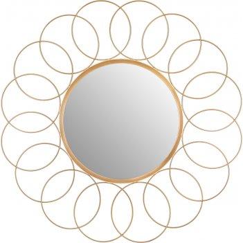 Зеркало настенное диаметр=58 см. зеркало=30 см.